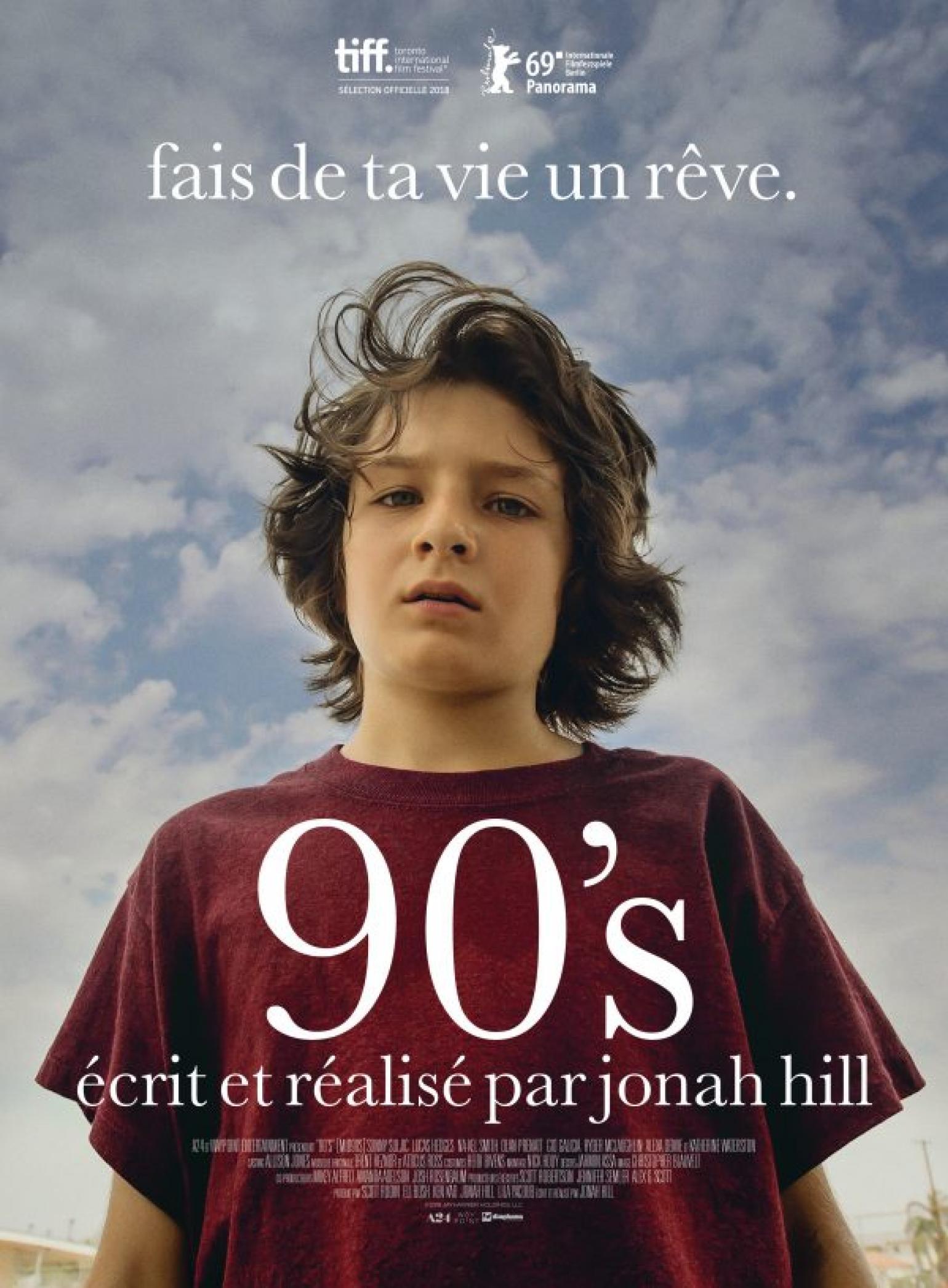 Une tristesse vintage. 90's de Jonah Hill