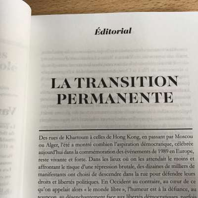 La transition permanente