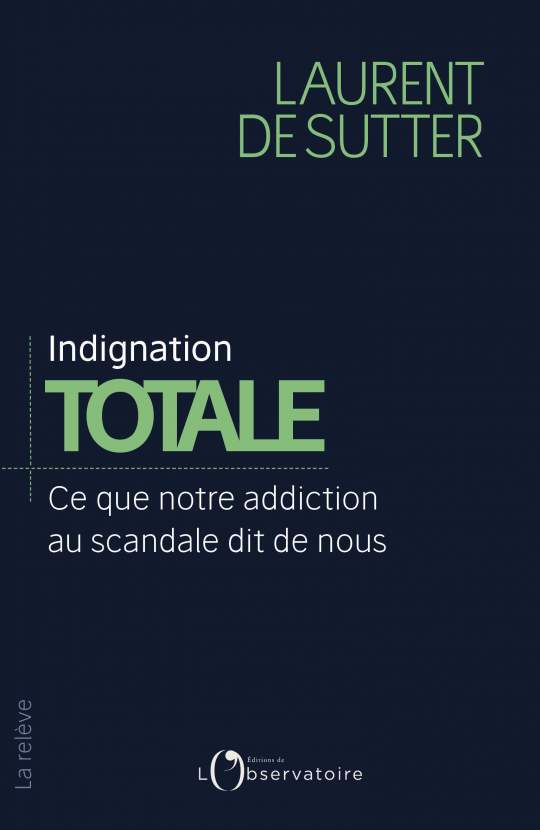 Indignation totale de Laurent de Sutter