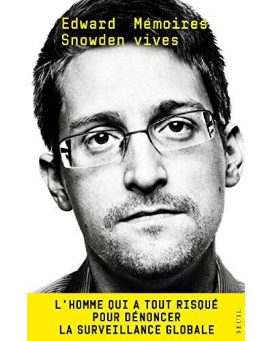 Mémoires vives d'Edward Snowden